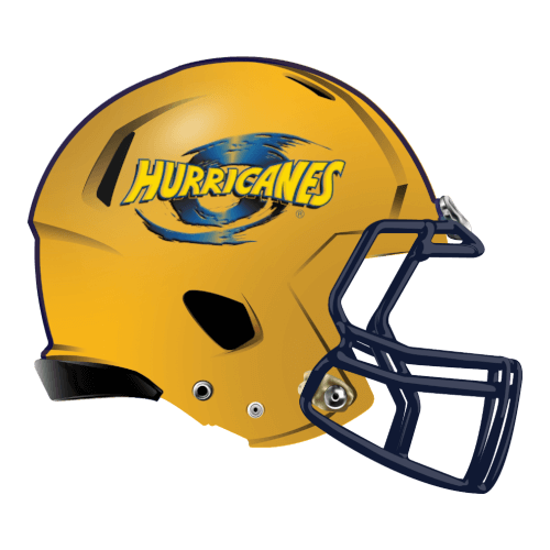 hurricanes fantasy football Logo helmet