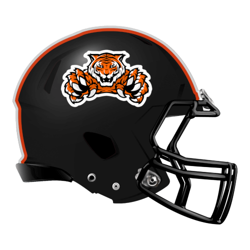 bengals tigers fantasy football Logo helmet