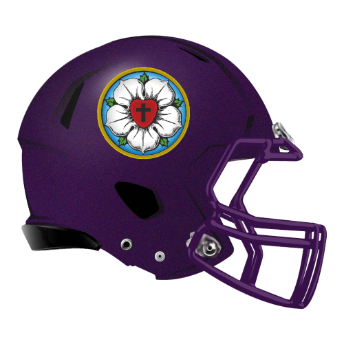 cross flower peace religion fantasy football Logo helmet