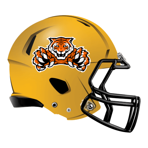 tigers bengals fantasy football Logo helmet