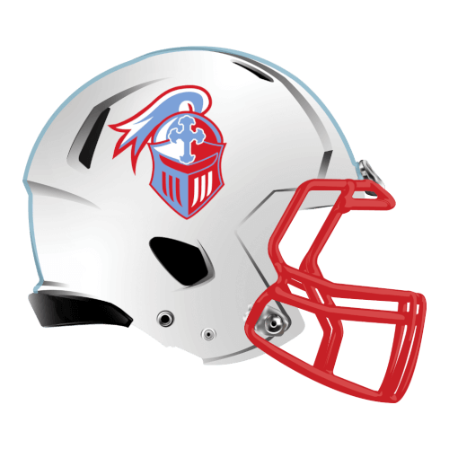 crusaders helmet cross religion fantasy football Logo helmet