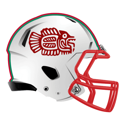 fish native American design fantasy football Logo helmet