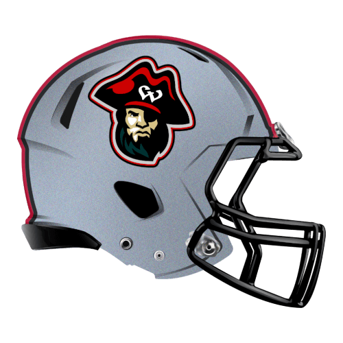 pirate wed waiders fantasy football Logo helmet