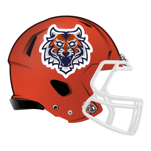 Bengal tigers fantasy football Logo helmet