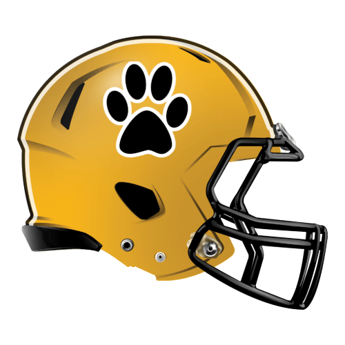 claw paw cat bear fantasy football Logo helmet