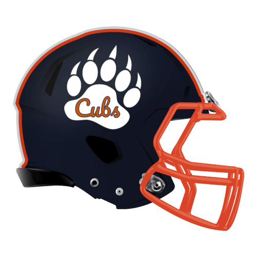 cubs-claw fantasy football Logo helmet