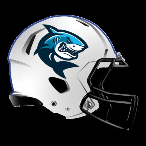 shark fantasy football Logo helmet