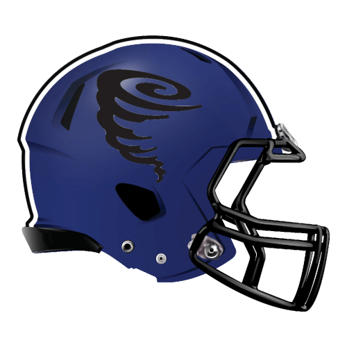tornado cyclone twister fantasy football Logo helmet