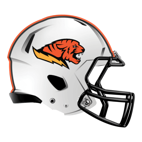 bengal tiger fantasy football Logo helmet