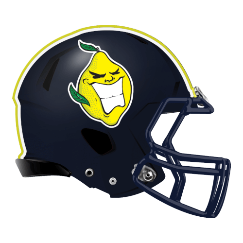 lemon heads fantasy football Logo helmet