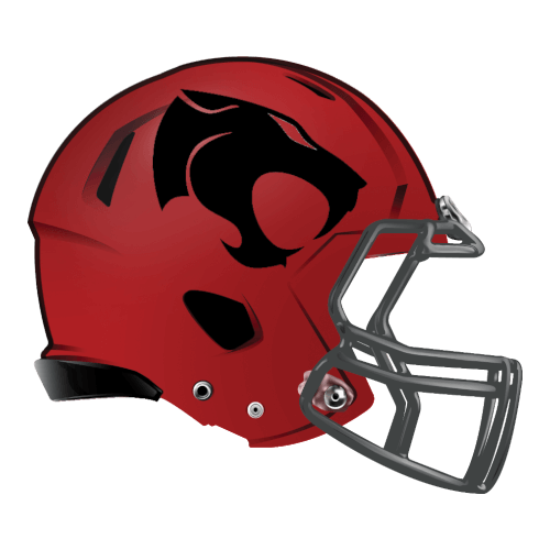 thunder cats fantasy football Logo helmet