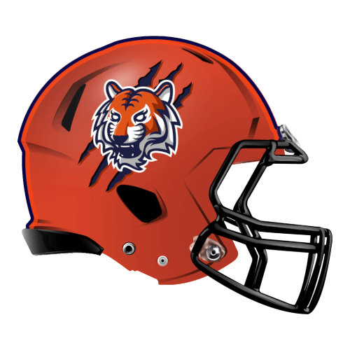 tiger claw marks fantasy football Logo helmet