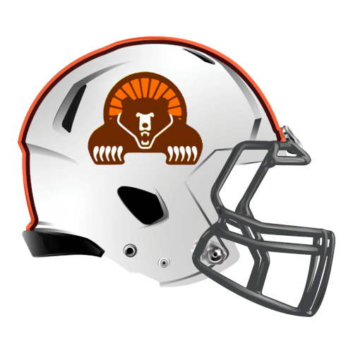 grizzly bears fantasy football Logo helmet