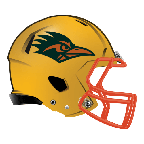 the road runners fantasy football Logo helmet