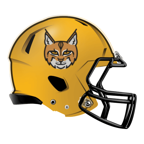 lynx cat fantasy football Logo helmet